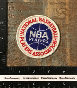 Vintage National Basketball Players Association NBA Logo Souvenir Patch