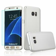 New 360° Shockproof Full Body Cover With Screen Protector Hard Case For Samsung