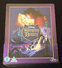 Disney SLEEPING BEAUTY Blu-Ray SteelBook UK Exclusive Region B. 1st Ed. OOP Rare