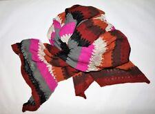 Sportsgirl Brand Multi Knitted Long Neck Scarf NEW