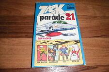 ZACK PARADE  # 21 -- mit PITTJE PIT+DAN COOPER+UFO+RICK MASTER // Koralle 1977