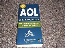 AOL Keyword Dictionary by Jennifer Watson (1996, Paperback)