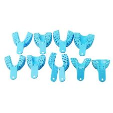 10pcs/Bag Dental Impression Trays Autoclavable Dental Central Supply Dentist