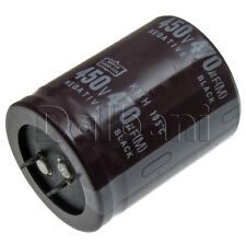 New Snap In 2 Pin Capacitor 450V 470UF 35mm Diameter 45mm Height