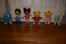 FRED ROGERS-DANIEL TIGER'S NEIGHBORHOOD-LOT OF 6 CAT OWL MARGRET ELAINA PRINCE