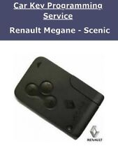 Renault Megane & Scenic  - Replacement Key Card  Including Programming in London