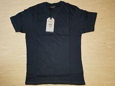 Neues BRAVE SOUL Herren T-Shirt Gr S Navy mit Brusttasche NEU/OVP
