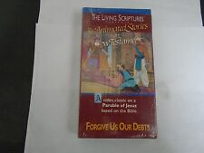 LIVING SCRIPTURES PRESENTS FORGIVE US OUR DEBTS VHS NEW