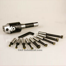 "2"" Boring Combo Set Includes Head R8 Shank & 1/2"" Bars Kit for Bridgeport Mill"