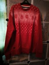 Used men's jumper red size xl