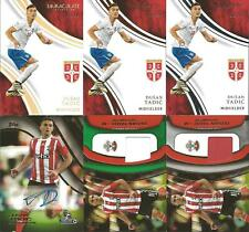 Dusan Tadic Immaculate Gold Silver Bronze Autograph Jersey Serbia AFC Ajax Auto