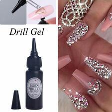 BORN PRETTY 25ml ear Nail Glue Gel Adhesive Crystal Rhinestone Gel Polish Tool