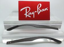 Authentic Rayban RB RX 8901 Grey Carbon Fiber Replacement Temples NEW! Genuine