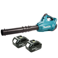Makita DUB362 Twin 18v LXT Brushless Cordless Leaf Blower With 2 x 3ah Batteries