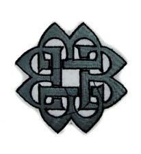 Eternal Life Celtic Knot Patch Iron on Applique Alternative Clothing Druid Witch