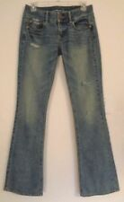 NWT AMERICAN EAGLE ARTIST Destroyed SKINNY Flare Jeans Size 2L 29 x 33 NICE!!