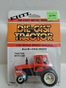 "Vintage ERTL: ""Allis-Chalmers 7045"" Die-Cast Farm Tractor Toy; 1/64 NIP #1623"