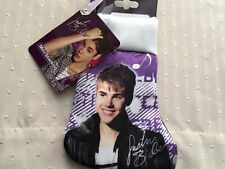 Justin Bieber Mini Christmas Stocking (Purple) **NEW**