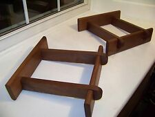 Solid Walnut Speaker Stands made for JBL L100 Century Speakers **Free Shipping**