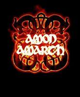 AMON AMARTH cd lgo FIRE HORSES Official Black SHIRT XXL 2X new