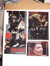 2005 The Sopranos Season One INSERT CHASE 6 CARD LOT! BL2 FM1-FM5 FAMILY MATTERS