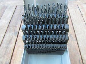 51 tlg HSS DIN Stahl Spiralbohrer  Metallbohrer Bohrer Set Satz Ø 1 - 6 mm 0,1mm