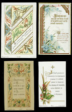lotto santini-holy cards lot-lot images pieuses-konvolut heiligenbildichen 2513