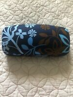 NEW Vera Bradley Hard Clamshell Sunglasses Case in Floral Print