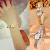 Luxurious Women's Watch Bracelet Stainless Steel Crystal Dial Quartz Wrist Watch