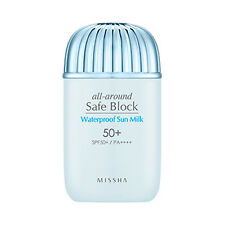 [MISSHA] All Around Safe Block Waterproof Sun Milk - 40ml (SPF50+ PA++++) (New)