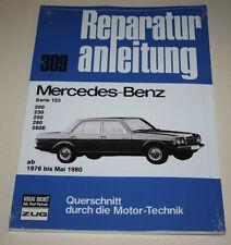 Manual de Reparaciones Mercedes W123 200/230/250/280 / 280E, desde Año 1976