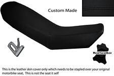 BLACK STITCH CUSTOM FITS KTM ADVENTURE 990 950 DUAL LEATHER SEAT COVER
