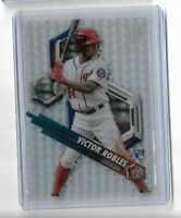 Victor Robles Washington Nationals 2018 Bowman High Tek Baseball Pattern 6 RC