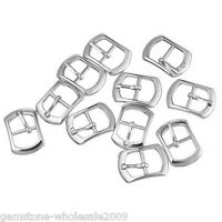 "30PCs ""Ri"" Shape Metal Buckles DIY Shoe Bag Sewing Accessories 21x15mm GW"