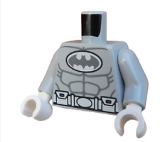 Lego Torso Arctic Batman in hellgrau (light bluish gray) 973pb1294c01 Neu