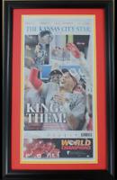 Kansas City Chiefs Super Bowl Champions Framed Original Newspaper Cover KC Star