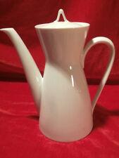Rosenthal Form 2000 weiß Design Loewy Latham Kaffeekanne