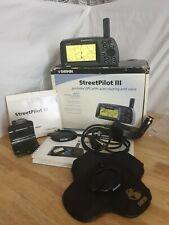 Garmin Streetpilot III 3 Street pilot GPS Satellite Navigation System Sat Nav