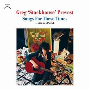 Prevost  Greg Stackhouse-Songs For These Times CD NEUF