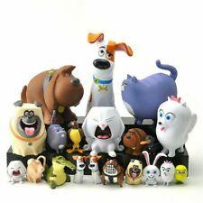 14pcs Toys The Secret Life of Pets Blind Bag Movie Animal Figure Doll Kids Gifts