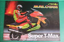 MALOSSI SUPER YAMAHA T-MAX 500 RICAMBI PUBBLICITA DEPLIANT BROCHURE CATALOG