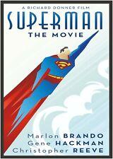 Superman Art Deco Poster Print A0 A1 A2 A3 A4 Maxi