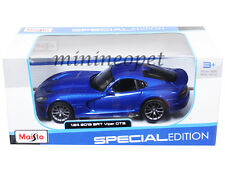 MAISTO 31271 2013 13 DODGE VIPER SRT GTS 1/24 DIECAST BLUE