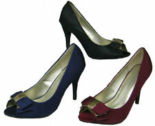 Special Occasion Court Textile Heels for Women