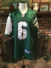 New York Jets Mark Sanchez Sewn Green NFL Reebok Jersey Size 48 Infield
