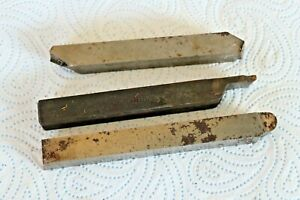 "Job Lot of 5/8"" (16cm) Shank HSS Tool Steel good quality old Lathe Turning Tools"