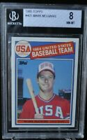 1985 Topps - Mark McGwire - #401 - BVG 8 - NM-MT