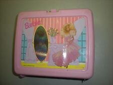 Vintage Thermos Pink Barbie Lunch Box - #1
