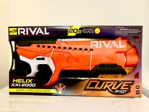 NERF Rival Curve Shot Helix XXI 2000. New, Unopened.