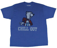 Mustache Brigade Mens Icee Chill Out Shirt New M